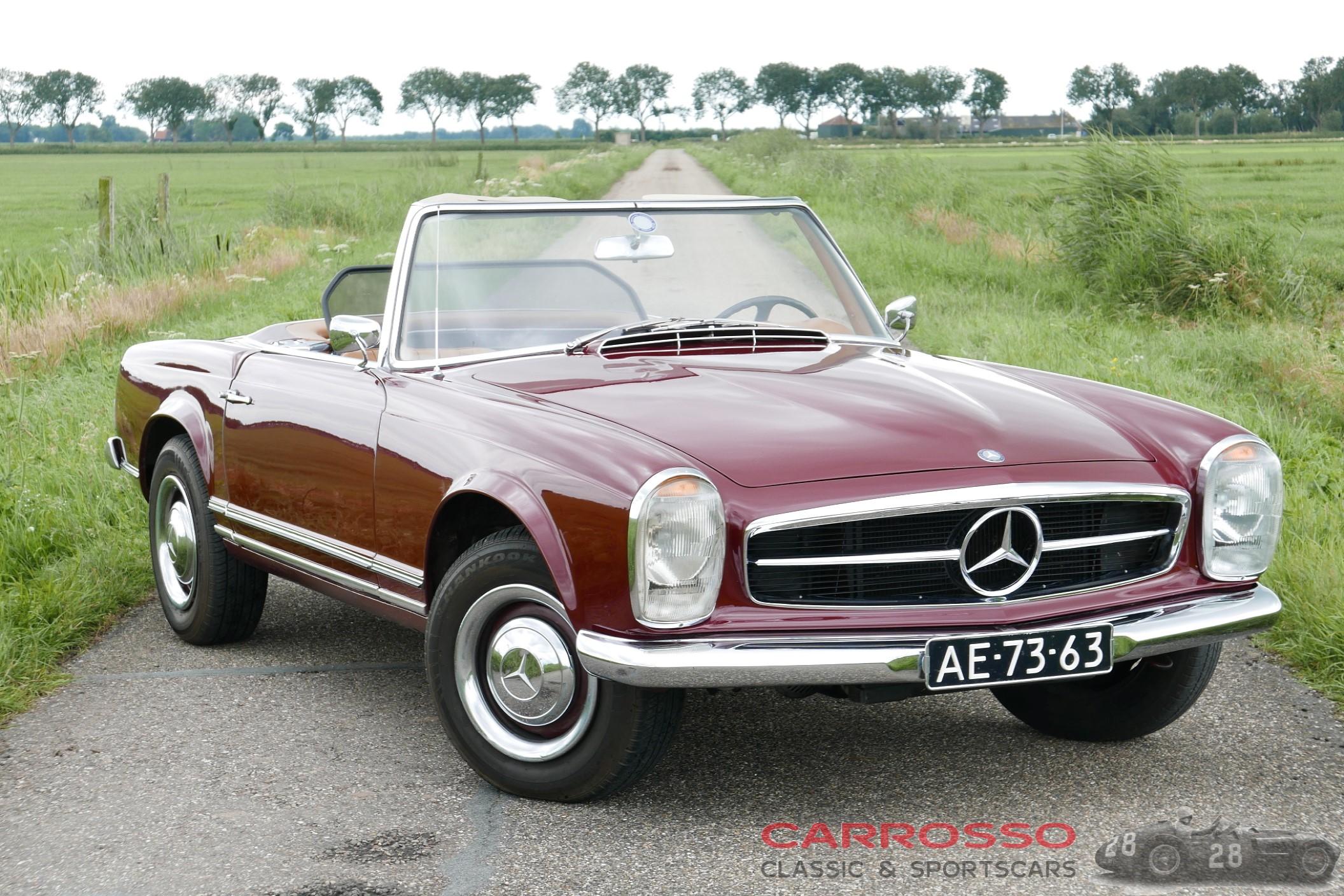 Mercedes Benz 230 SL Pagode - BIDaCLASSICS